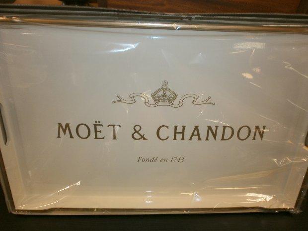 Plateau a champagne moet & chandon