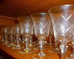 Série de verre en cristal